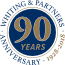 Whiting and Partners 90 years logo